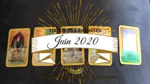 Tirage des énergies JUIN 2020